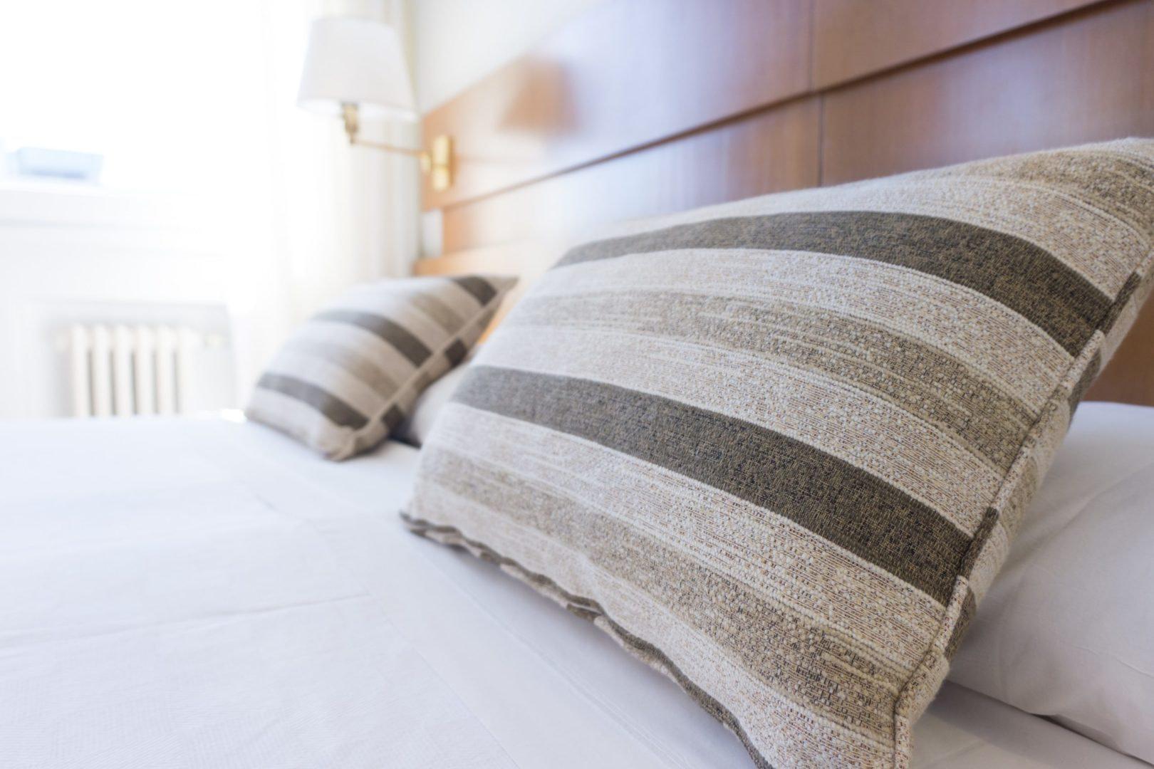 Убранная кровать